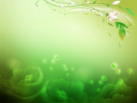 Зеленый фон для поздравления 71